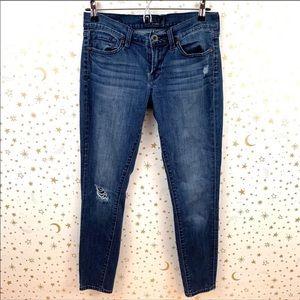 Lucky Brand   Charlie Super Skinny Distressed Jean